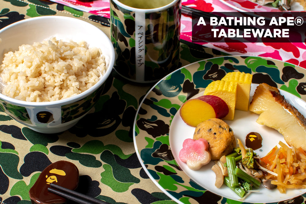 A BATHING APE® TABLEWARE