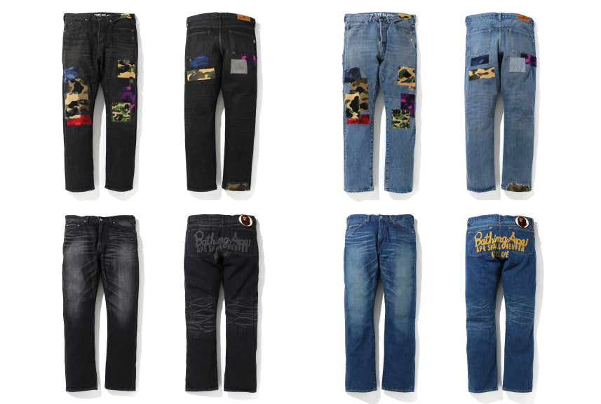DAMAGED DENIM PANTS COLLECTION