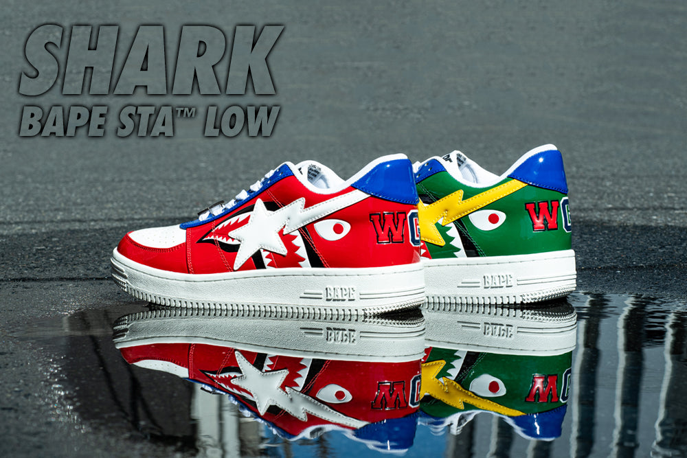 SHARK BAPE STA™ LOW