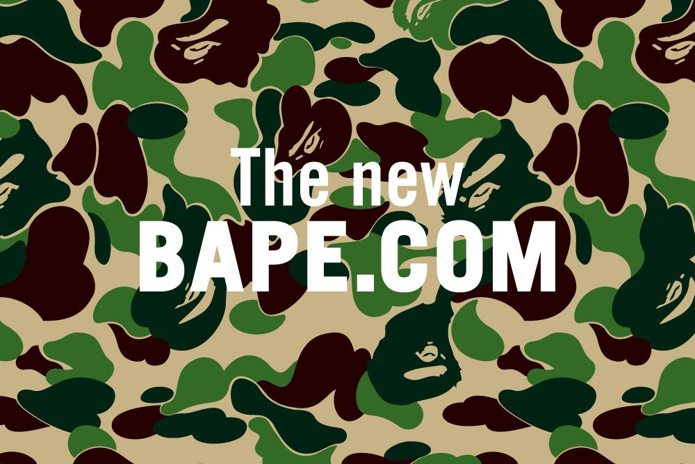 THE NEW BAPE.COM