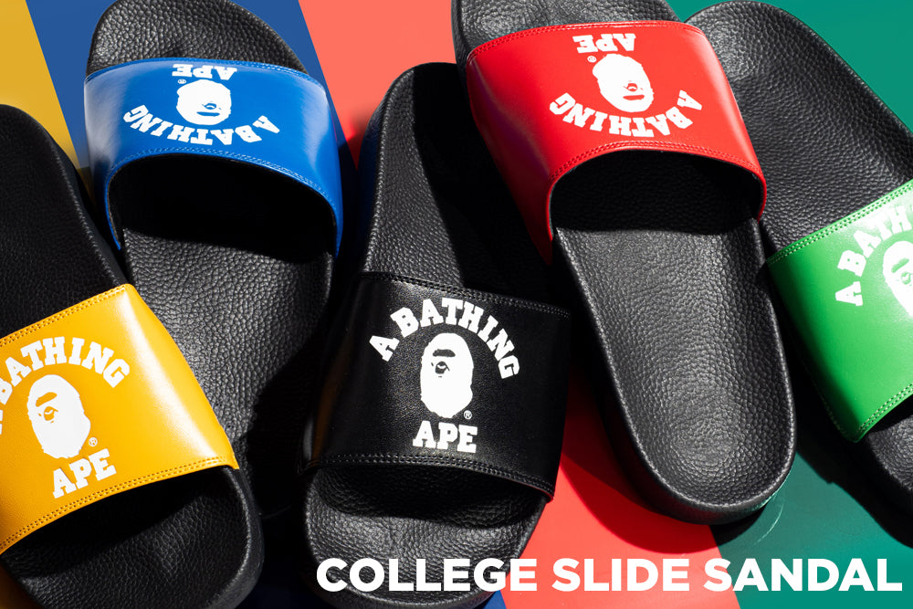 COLLEGE SLIDE SANDAL