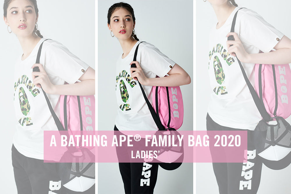 A BATHING APE® FAMILY BAG 2020 LADIES'