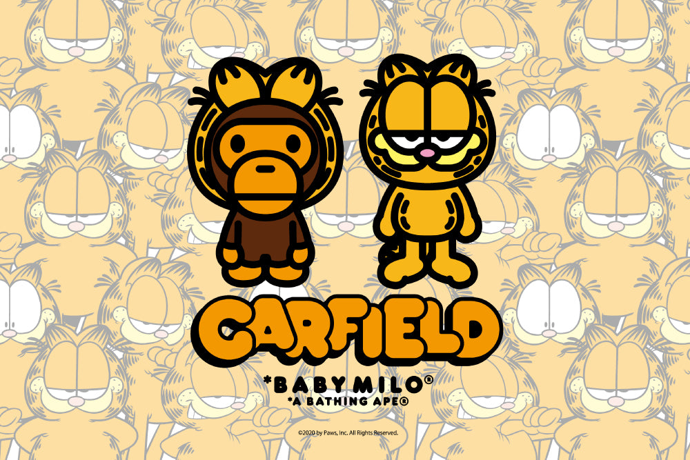 A BATHING APE® × GARFIELD
