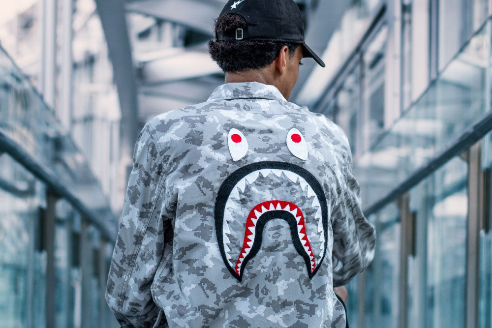 BAPE® DIGITAL CAMO ITEMS