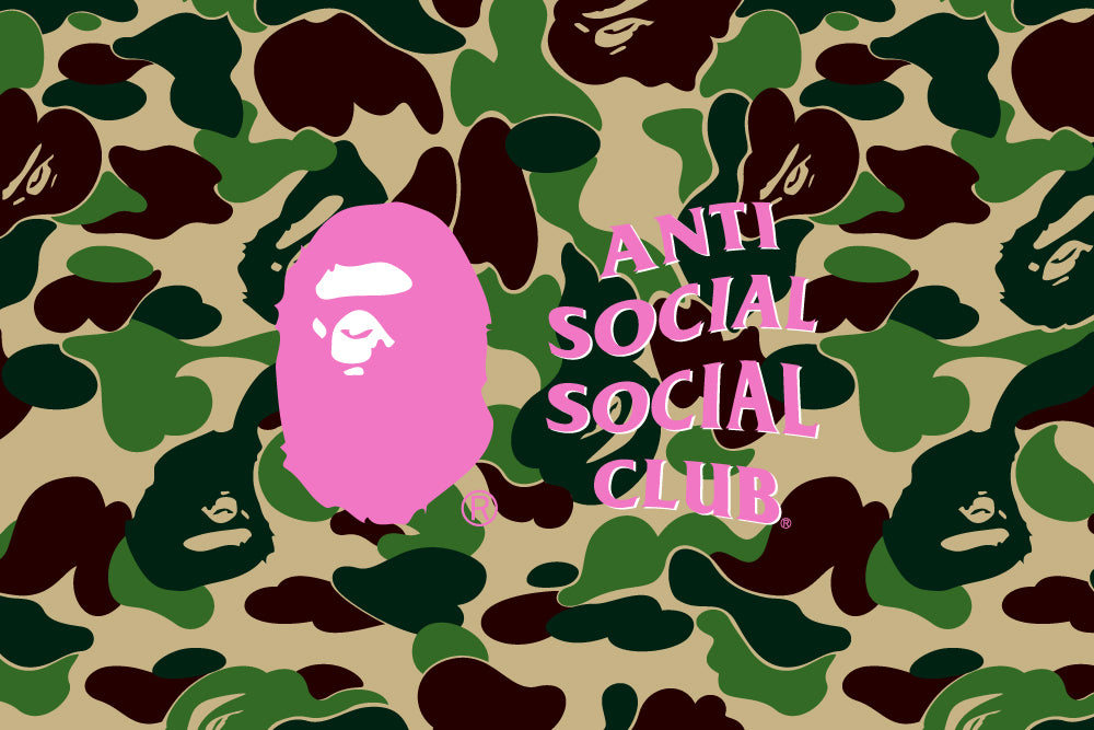 A BATHING APE® x ANTI SOCIAL SOCIAL CLUB®