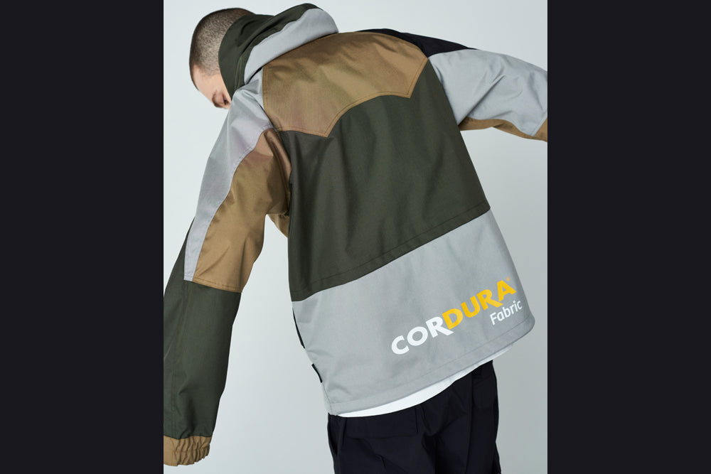 COLOR BLOCK CORDURA® SNOWBOARD JACKET
