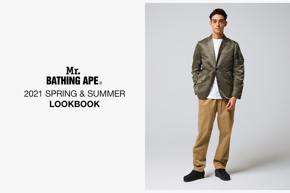 Mr. BATHING APE® 2021 S/S COLLECTION