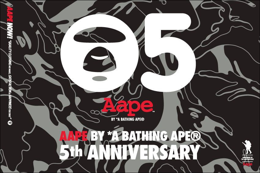 AAPE BY A BATHING APE® 5TH ANNIVERSARY