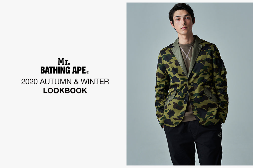 A BATHING APE® MR 2020 A/W COLLECTON
