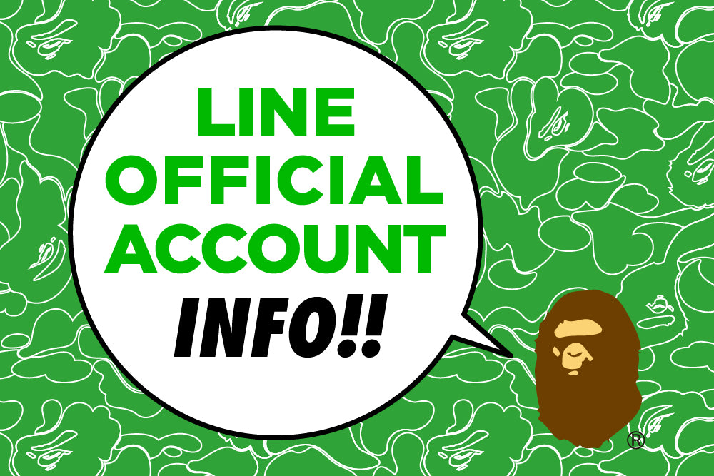 LINE OFFICIAL ACCOUNT INFO!!