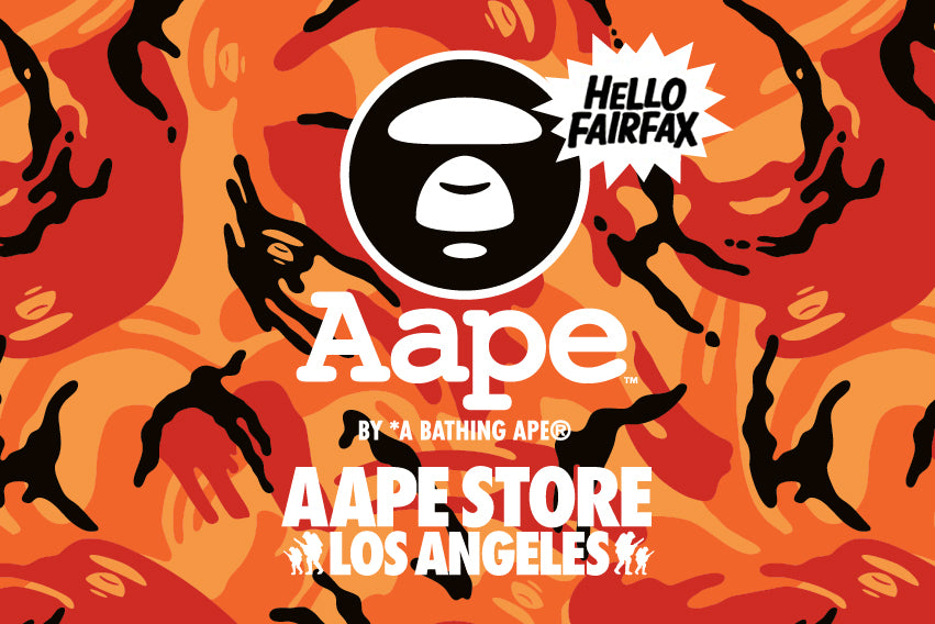 AAPE STORE LOS ANGELES NEW OPEN