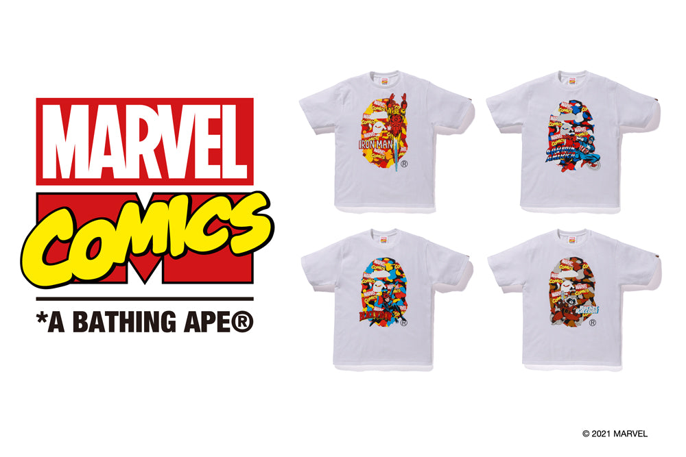 "A BATHING APE® ""MARVEL"" Collection"