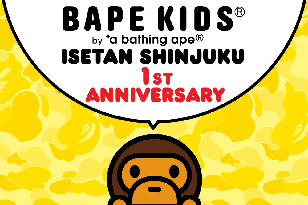 BAPE KIDS® ISETAN LIMITED COLLECTION