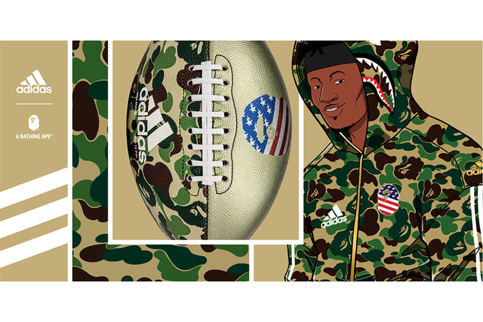 adidas & BAPE® FOOTBALL COLLECTION