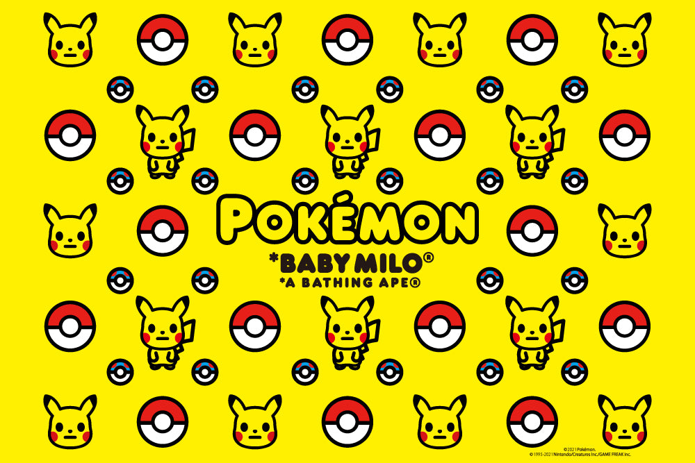 A BATHING APE® 「Pokémon」 COLLECTION