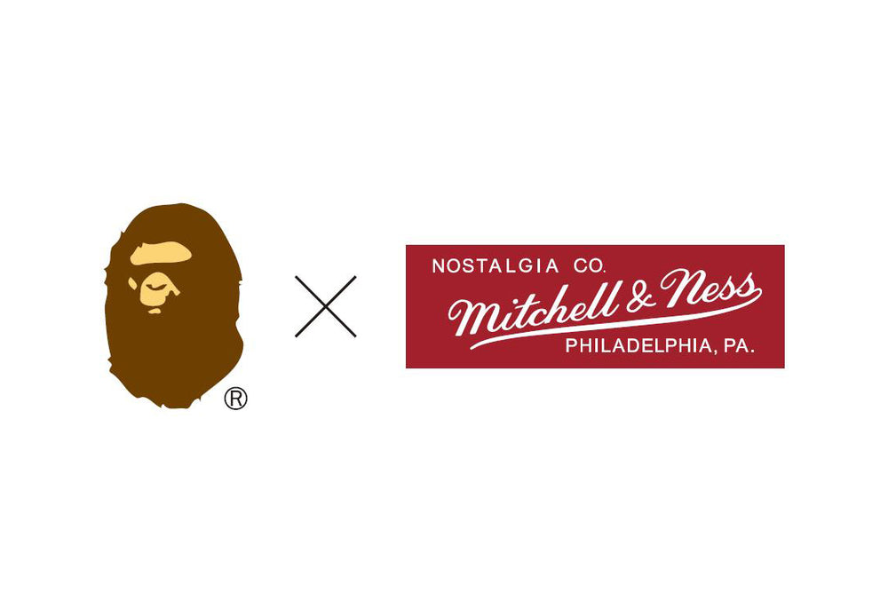 A BATHING APE® x MITCHELL & NESS