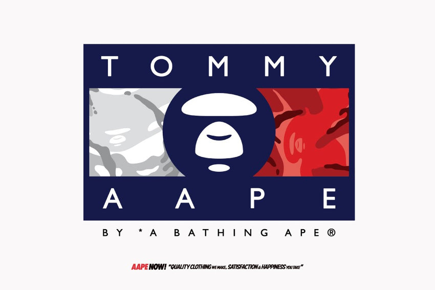 AAPE X TOMMY JEANS