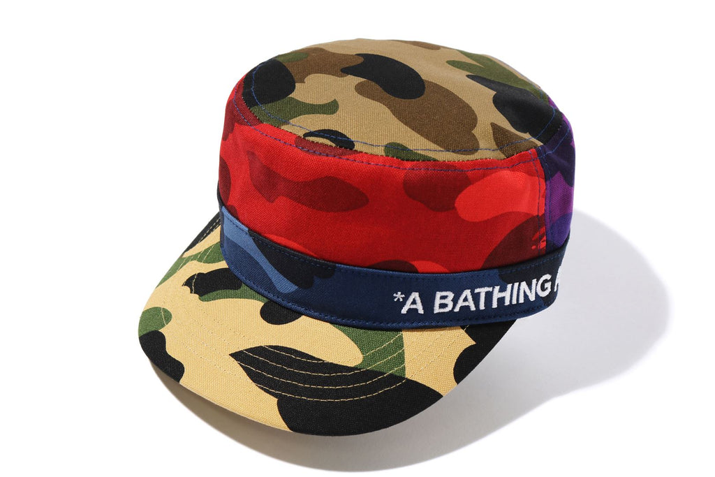 MIX CAMO CRAZY WORK CAP