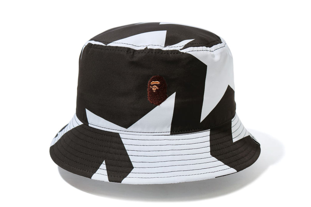 STA PATTERN BUCKET HAT