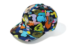 MULTI CAMO EMBROIDERY PANEL CAP