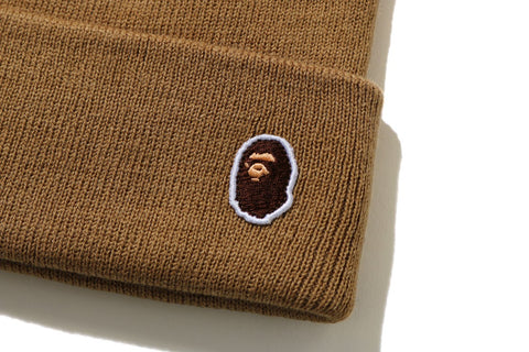 APE HEAD ONE POINT KNIT CAP
