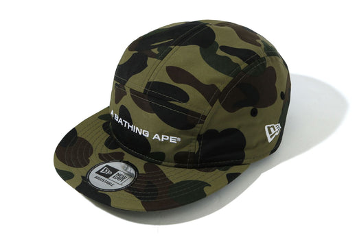 1ST CAMO A BATHING APE NEW ERA JET CAP