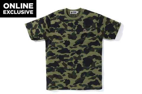 1ST CAMO ONE POINT TEE -ONLINE EXCLUSIVE-