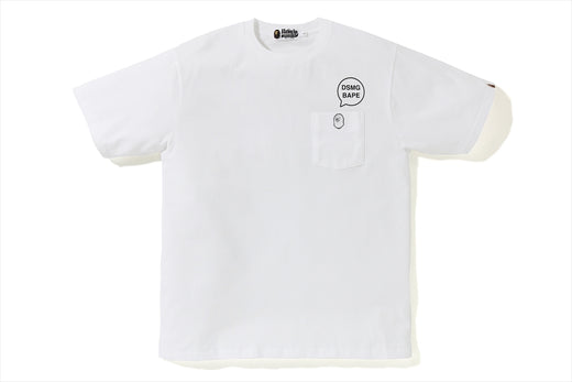 【 BAPE X DSMG 】POCKET TEE
