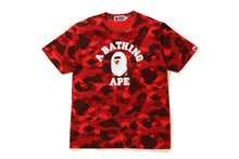 COLOR CAMO COLLEGE TEE