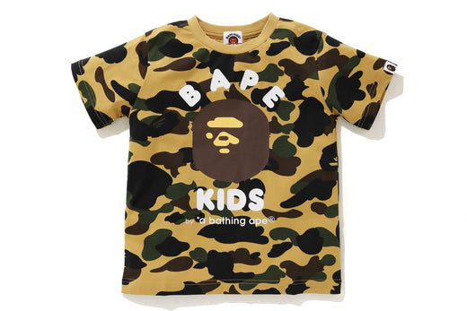 1ST CAMO KIDS APE HEAD TEE