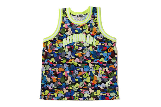 MULTI CAMO BASKETBALL TANK TOP