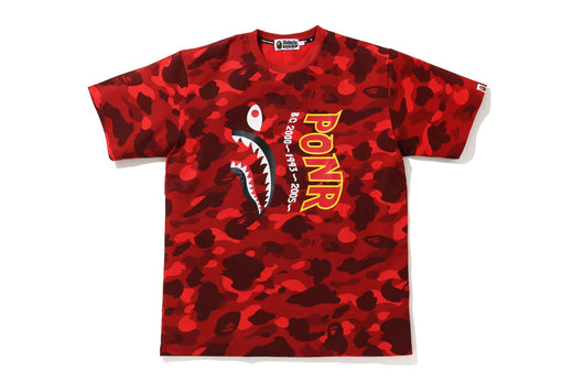 COLOR CAMO SHARK WIDE FIT TEE