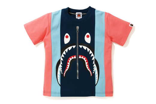 SHARK COLOR BLOCK TEE