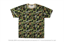 【 BAPE X TOM AND JERRY 】CAMO TEE