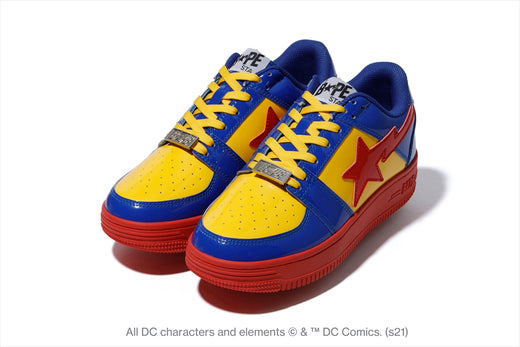 【 BAPE X DC 】SUPERMAN BAPE STA LOW