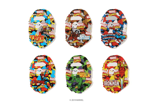 【 BAPE X MARVEL 】STICKERS SET