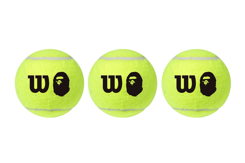 【 BAPE X WILSON 】TENNIS BALL