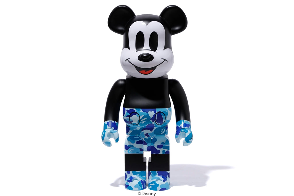 【 BAPE X MICKEY 90TH X MEDICOM TOY 】BAPE BE@RBRICK 1000%