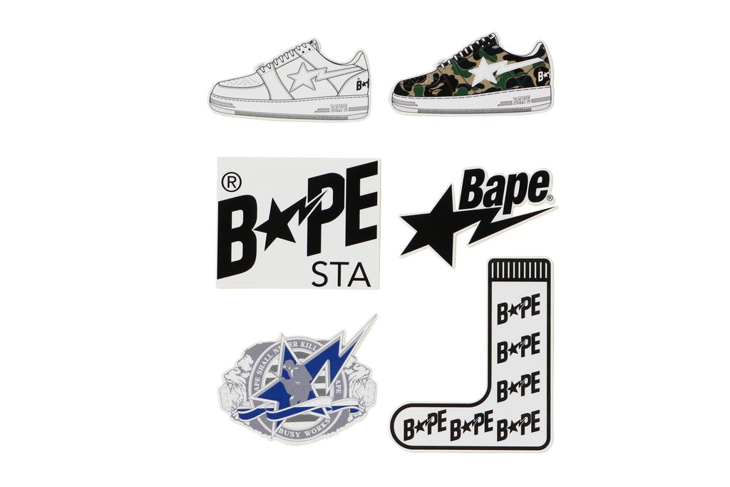 BAPE STA STICKERS SET