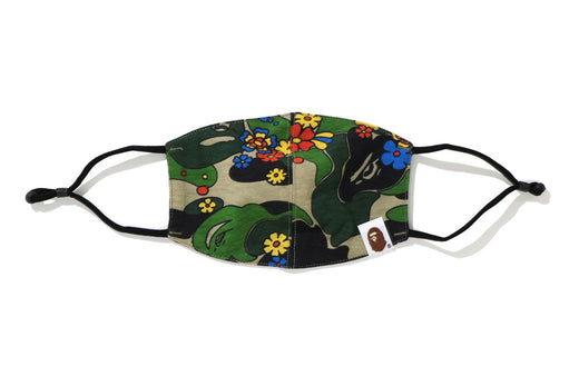 ABC CAMO FLOWER MASK