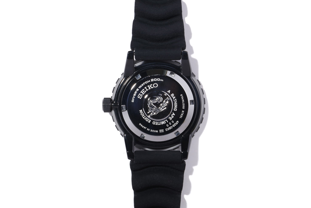 【 BAPE X SEIKO 】ABC CAMO MECHANICAL DIVERS WATCH