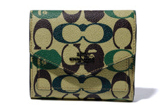 【 BAPE X COACH 】FLAP WALLET
