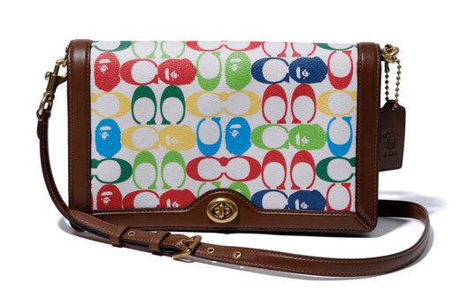 【 BAPE X COACH 】RILEY CROSSBODY