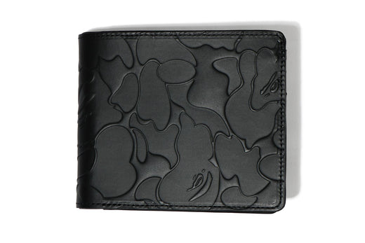 SOLID CAMO LEATHER WALLET