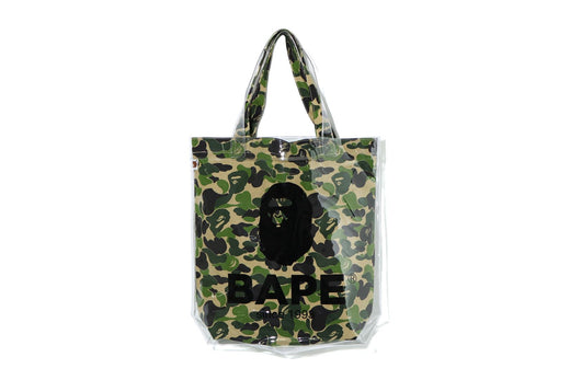 ABC CAMO CLEAR TOTE BAG