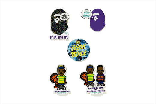 【 BAPE X THE FRESH PRINCE 】STICKER SET
