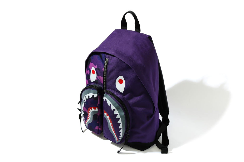 COLOR CAMO SHARK DAY PACK