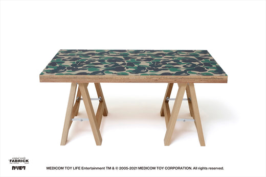 【 BAPE X FABRICK X KARIMOKU 】ABC CAMO FOLDING TABLE S BAPE HOME