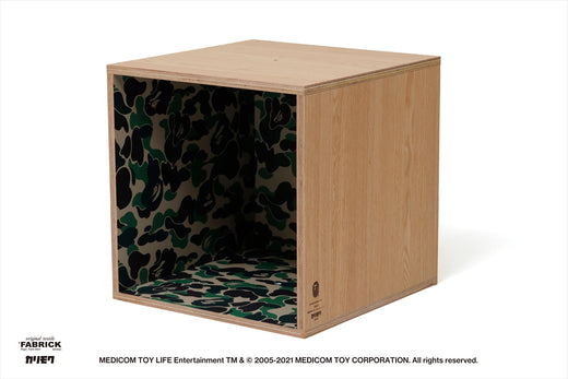 【 BAPE X FABRICK X KARIMOKU 】ABC CAMO SQUARE SHELF BAPE HOME