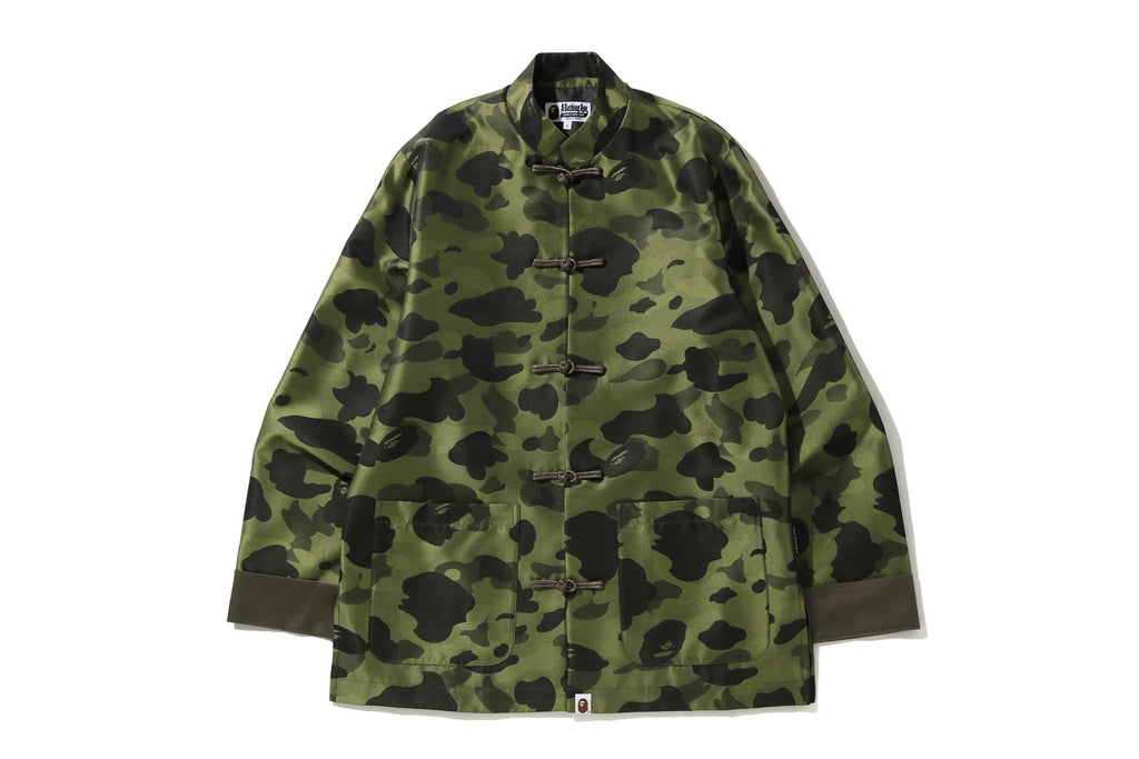 1ST CAMO BROCADE CHINA JACKET